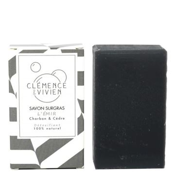 Imagen de Clémence & Vivien, Jabón Detox Anti-impurezas con Carbón Activado. 100gr