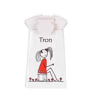 Imagen de 1 ud de prueba TRON Orinal para niñ@s plegable y desechable