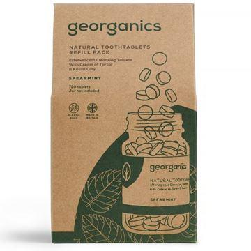 Imagen de Georganics Dentífrico en Tabletas, Hierbabuena - REFILL 720 Tabletas (caja cartón)