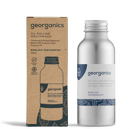 Imagen de Georganics Enjuague Bucal Natural  con Aceite de Coco - Menta