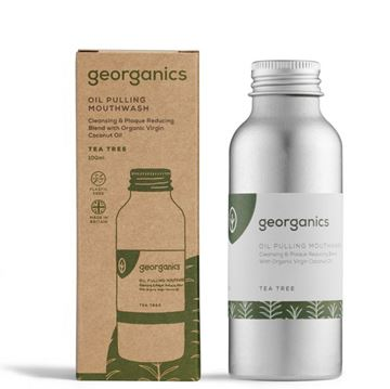 Imagen de Georganics Enjuague Bucal Natural  con Aceite de Coco - Arbol de Te