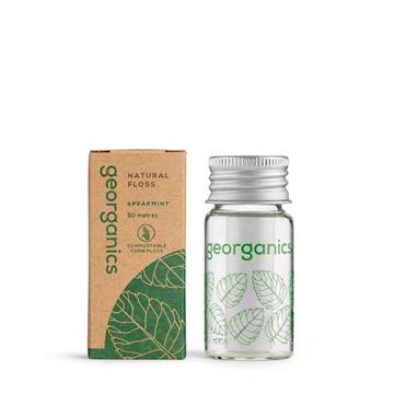 Imagen de Georganics Hilo Dental Vegano Biodegradable - Hierbabuena 50metros