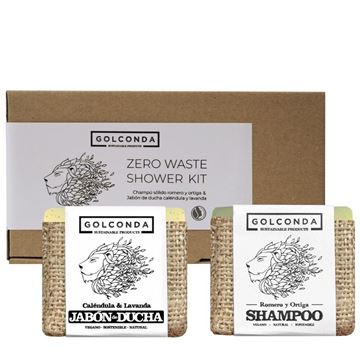 Imagen de GOLCONDA Zero Waste Shower Kit