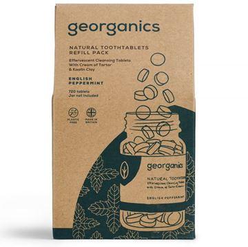 Imagen de Georganics Dentífrico en Tabletas, Menta- REFILL 720 Tabletas (caja cartón)