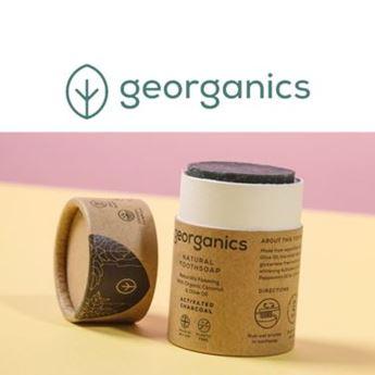 Logo de la marca georganics